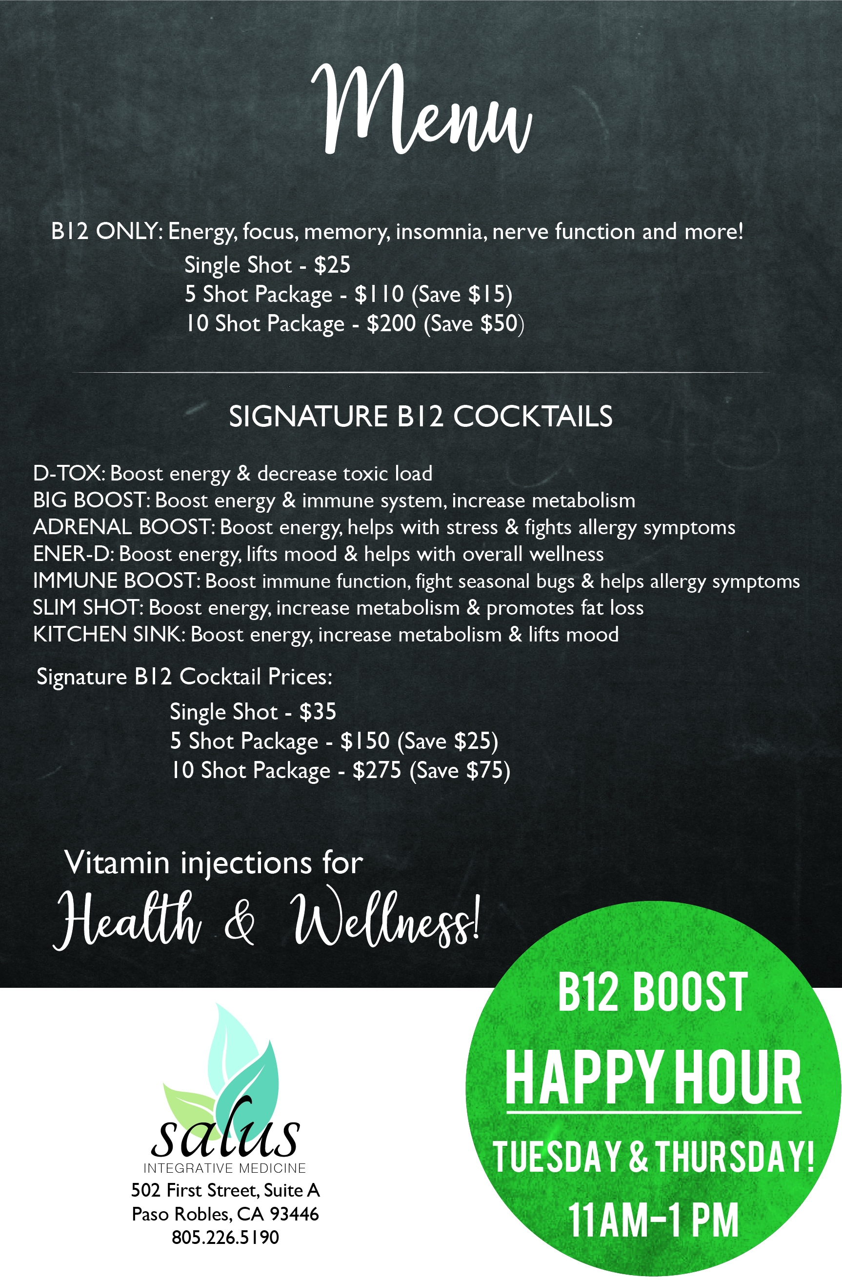 B12 Energy Boost Injections