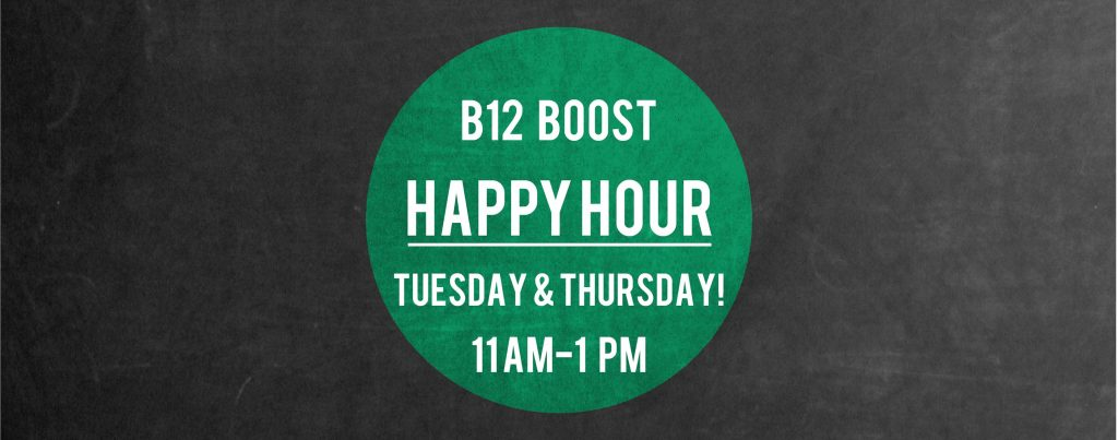 b12 injections paso robles happy hour