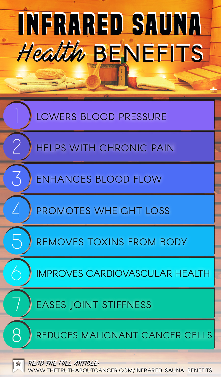 Infrared sauna health benefits